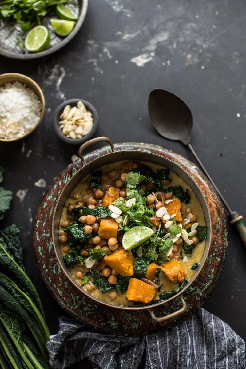Chickpea Coconut Korma Curry