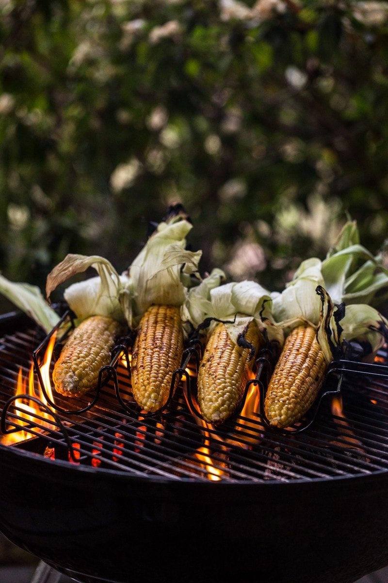 Grilled Buttered Corn And Barbecue Spice Rubs