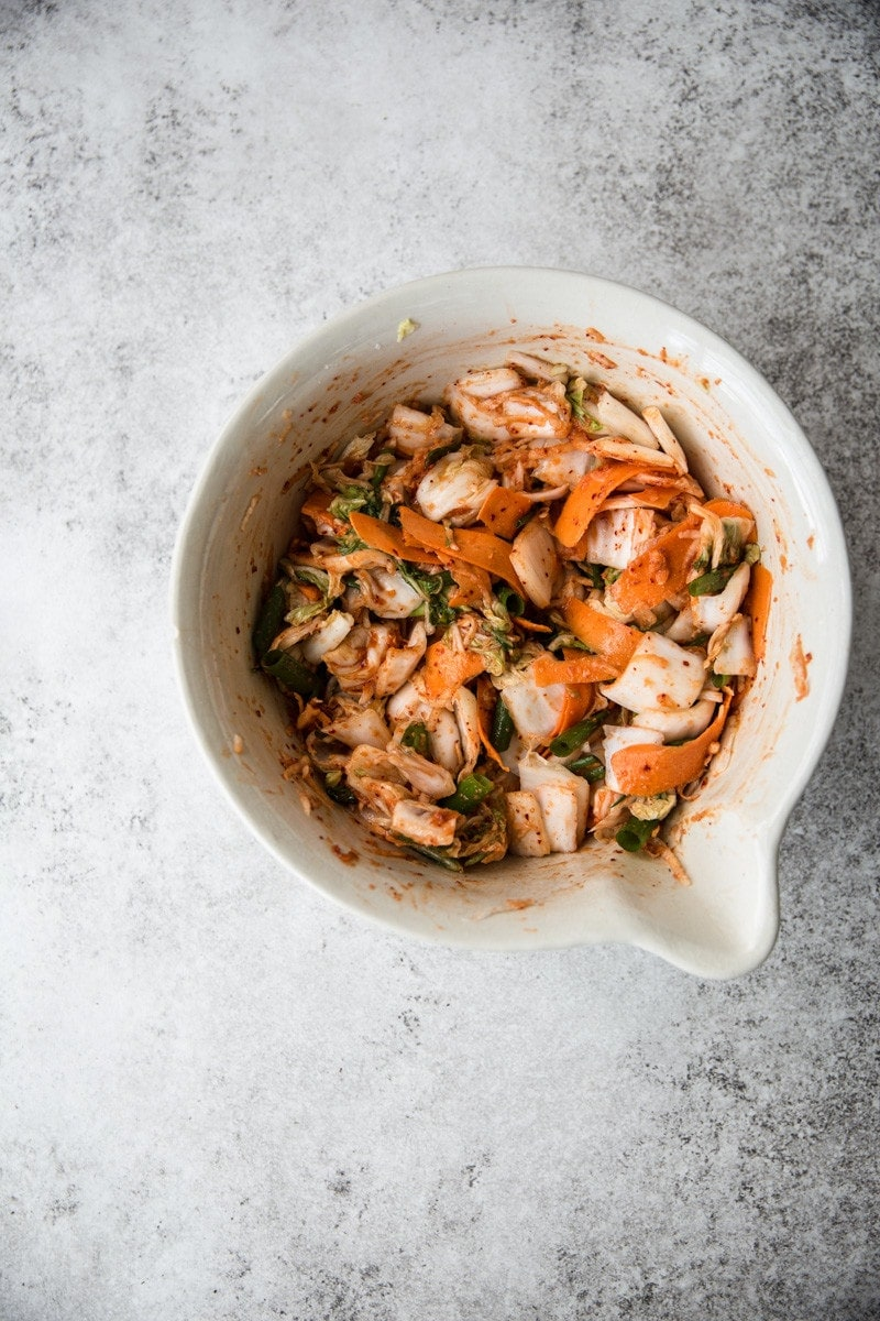 Easy 30 minute kimchi and vegan fish sauce cook republic for Vegan fish sauce