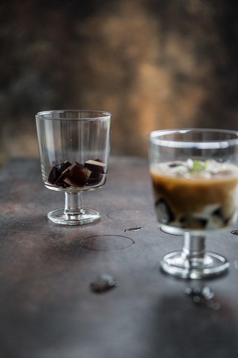 Vietnamese Iced Coffee Jelly