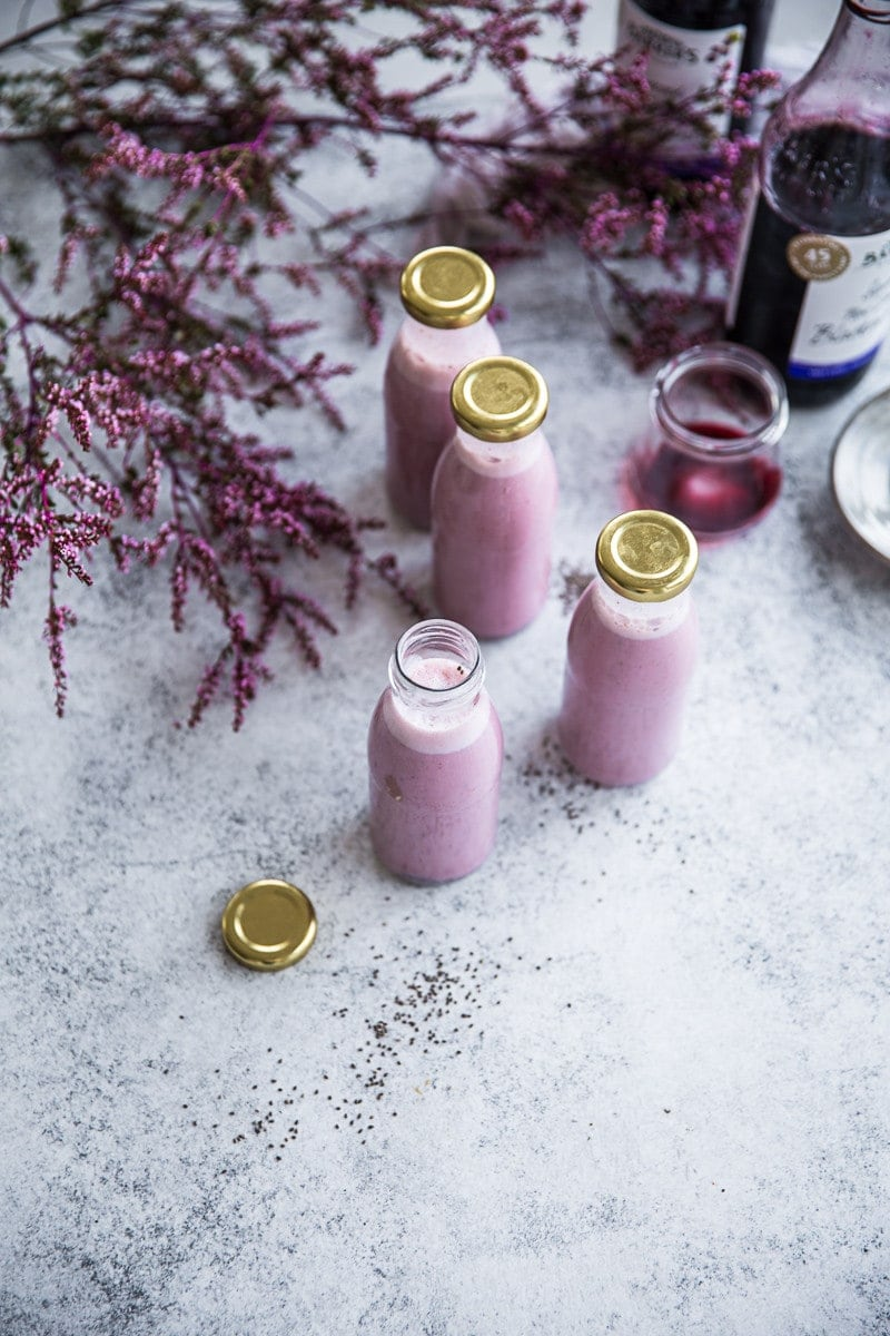 Barker's Blackcurrant Chia Nourish Shake - Cook Republic