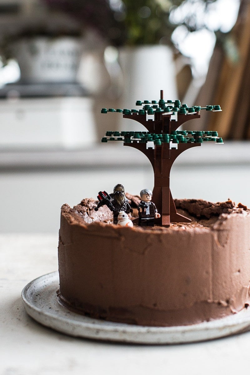 Triple Chocolate And Orange Star Wars Cake - Cook Republic