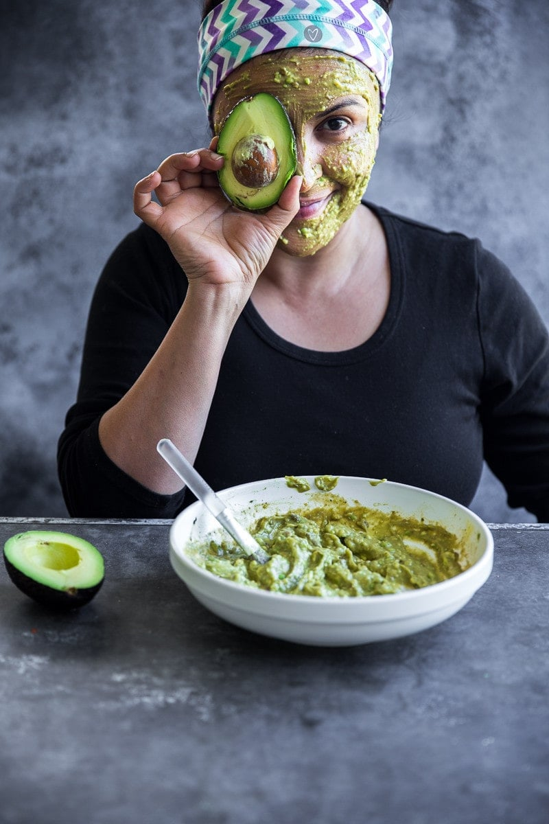 Avocado Matcha And Egg Face Mask - Cook Republic