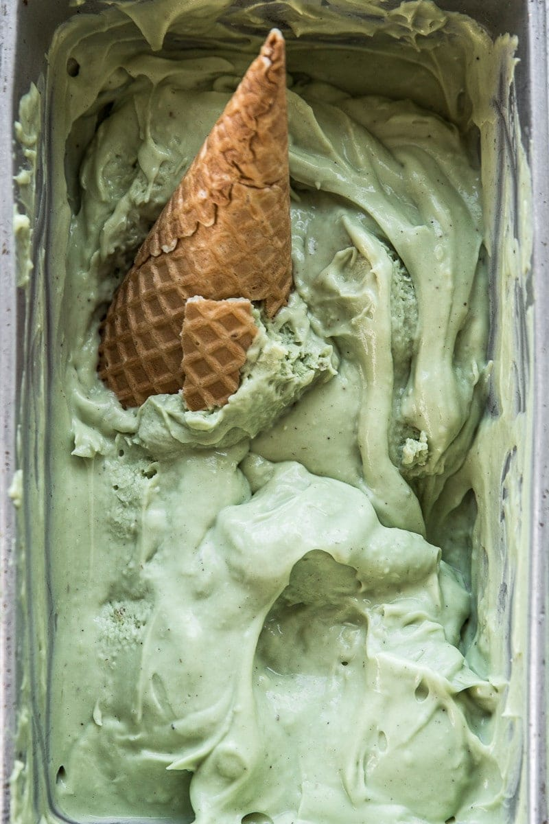 Avocado And Lime Ice Cream - Cook Republic