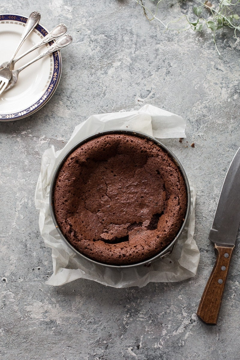 Flourless Chocolate Cake - Cook Republic