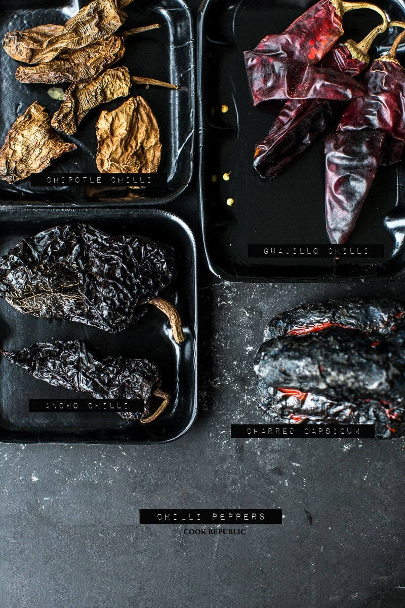 Dried Chile Peppers - photo and styling, Sneh Roy