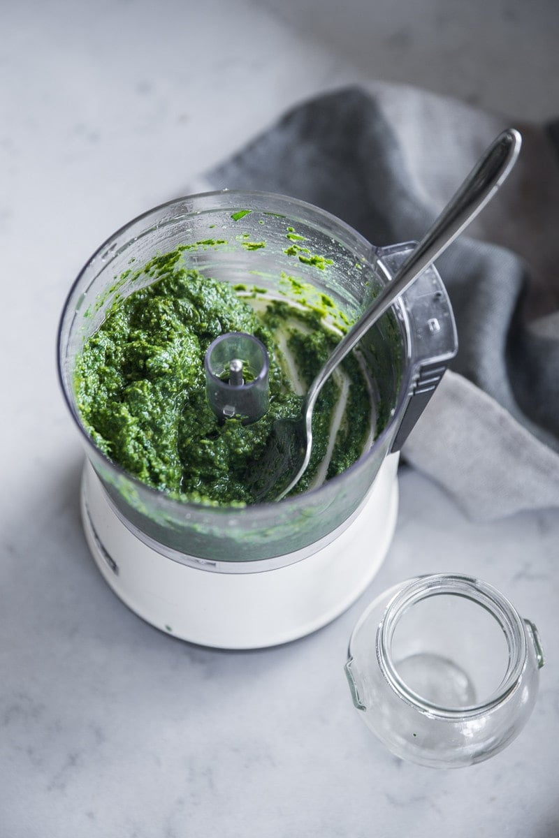 Vegan Basil Pesto With Miso - Cook Republic