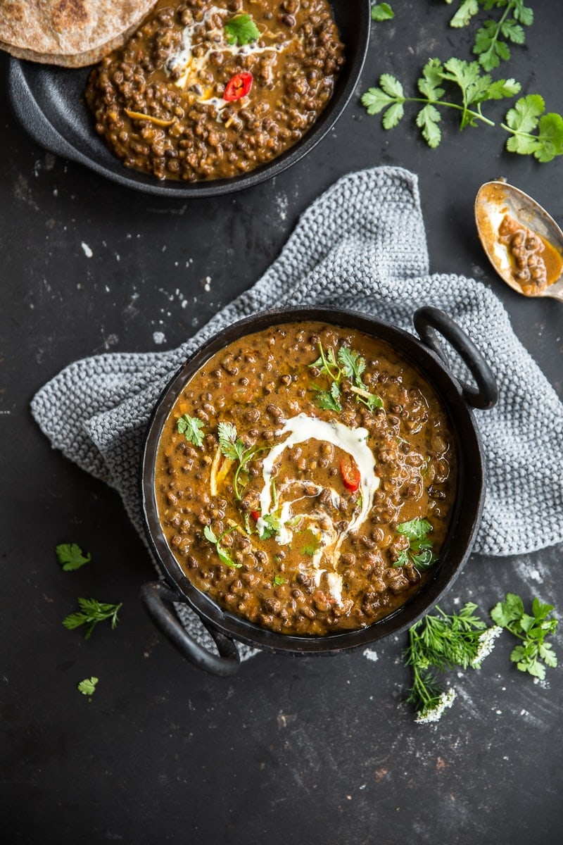 Vegan Dal Makhani (Black Lentil Dal) - Cook Republic #vegan #vegetarian