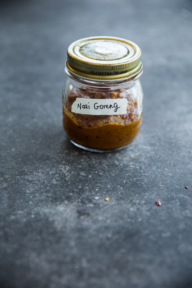 Homemade Vegan Nasi Goreng Curry Paste - Cook Republic