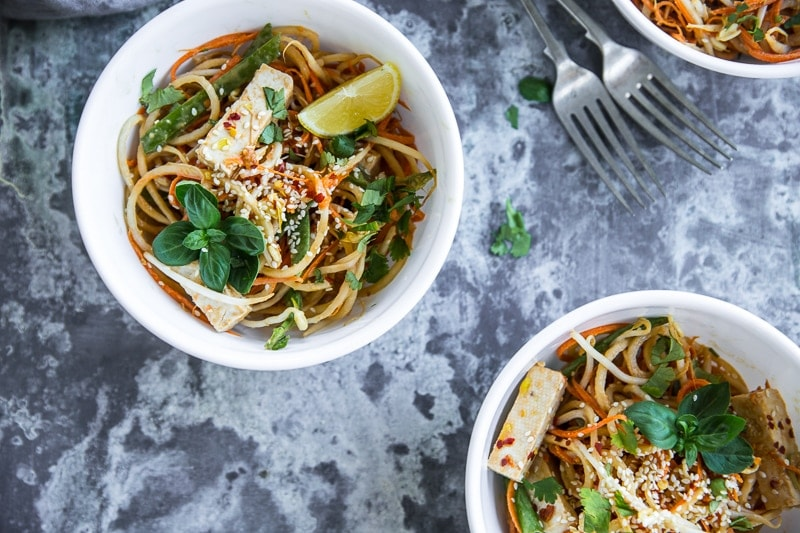 Noodle Free Pad Thai - Cook Republic #vegan #glutenfree #vegetarian