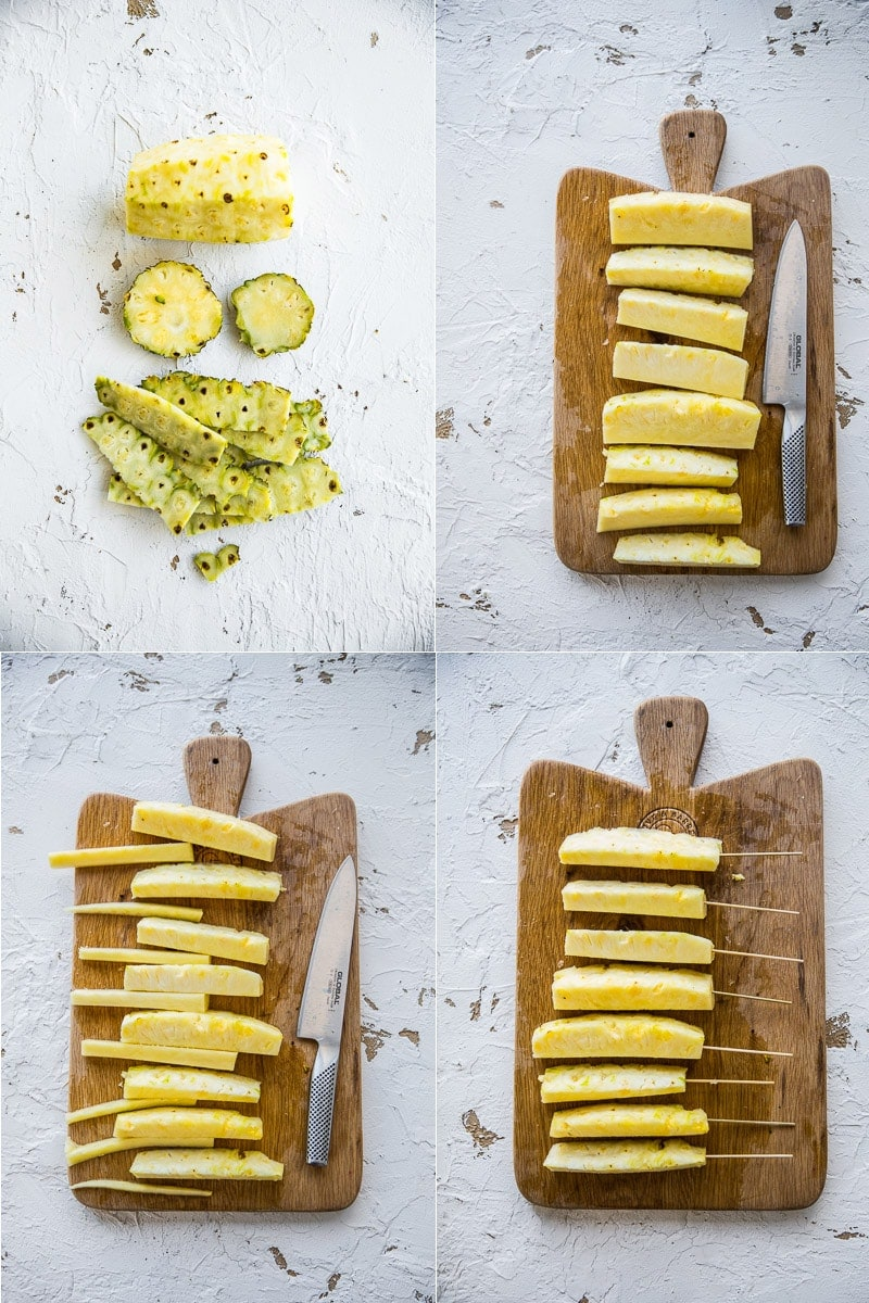 Grilled Cinnamon Pineapple - Cook Republic #vegan #glutenfree #dessert #recipe #foodphotography