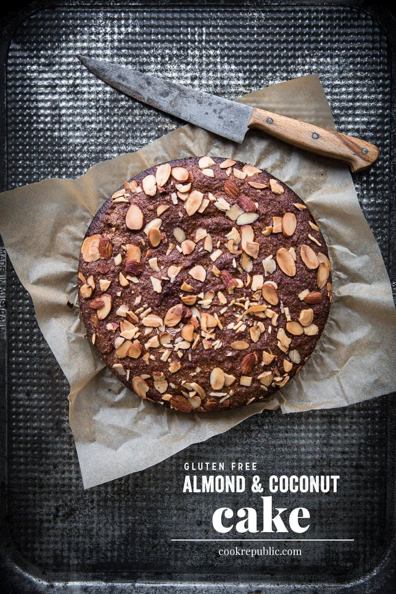 Gluten Free Almond And Coconut Cake - Cook Republic