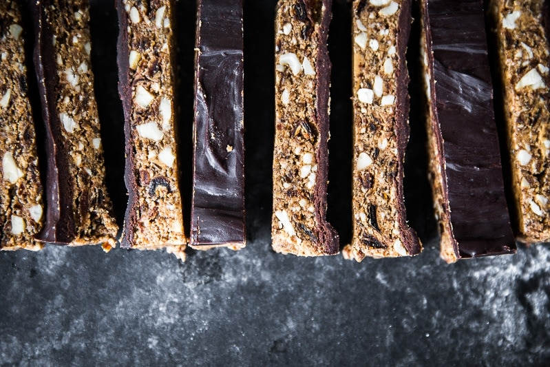 Raw Vegan Chocolate Nut Bar - Cook Republic #vegan #glutenfree #foodphotography #healthyrecipe