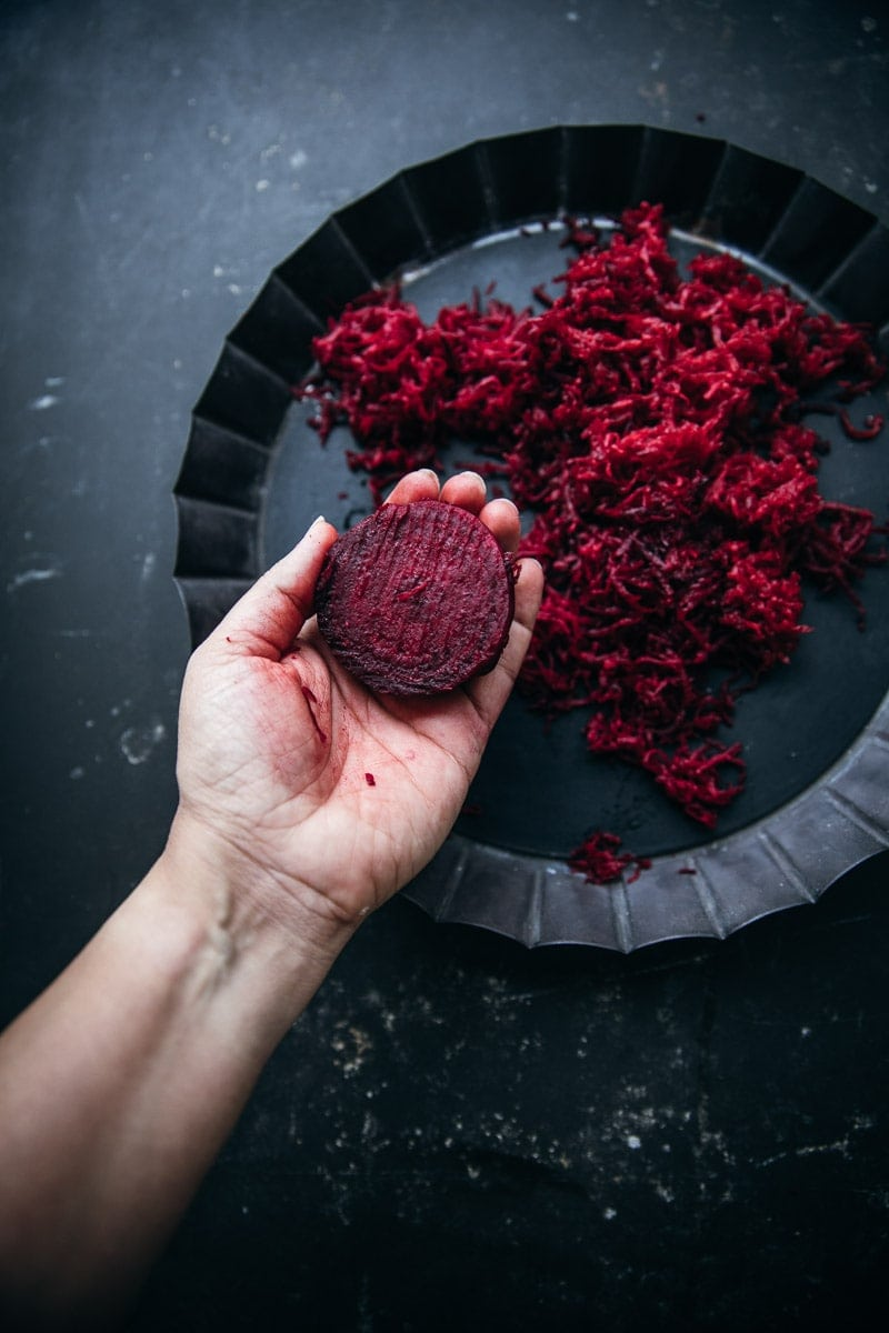 Vegan Beetroot Quinoa Burger - Cook Republic #veganrecipe #foodphotography #healthyrecipe