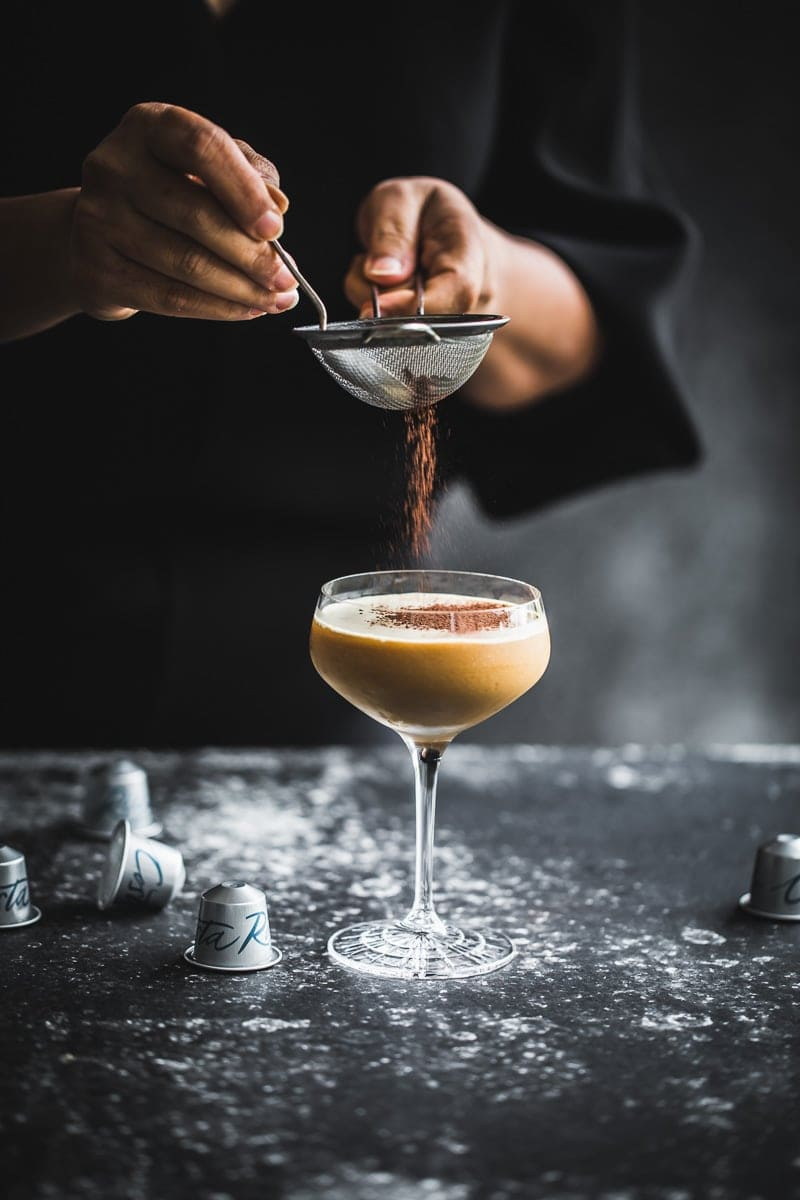 Costa Rica Tiramisu Martini - Cook Republic / photography and styling, Sneh Roy #cocktail #tiramisu #dessert