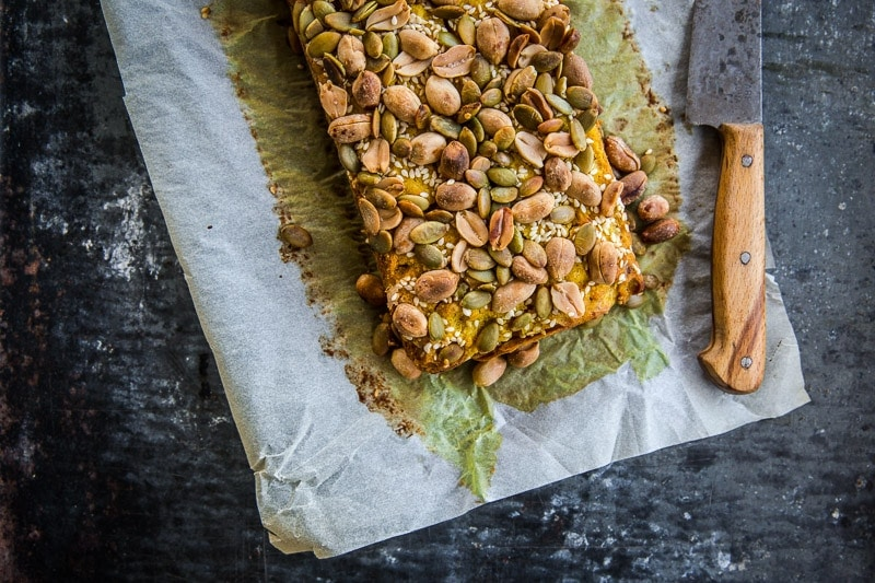 Vegan Chickpea And Veggie Bread - Cook Republic #vegan #glutenfree #healthyrecipe