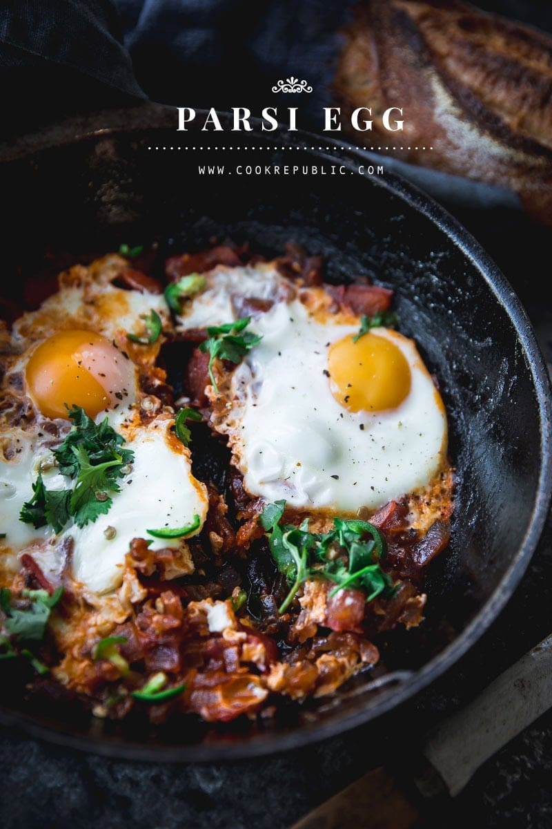 Parsi Egg - Cook Republic #vegetarian #breakfast #foodphotography