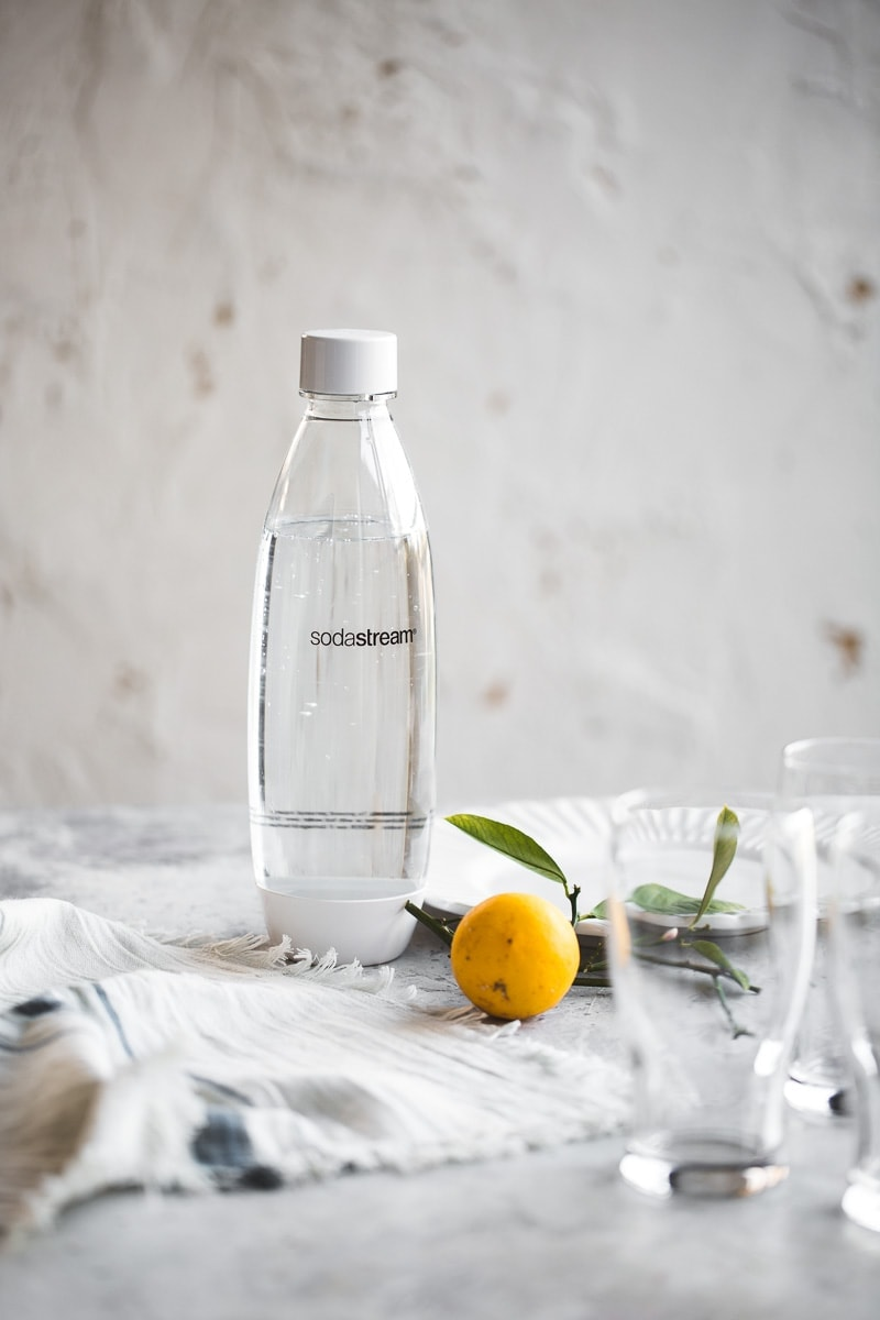 Sparkling Iced Lemon Tea - Cook Republic #sodastream #easyrecipe #vegan #foodphotography