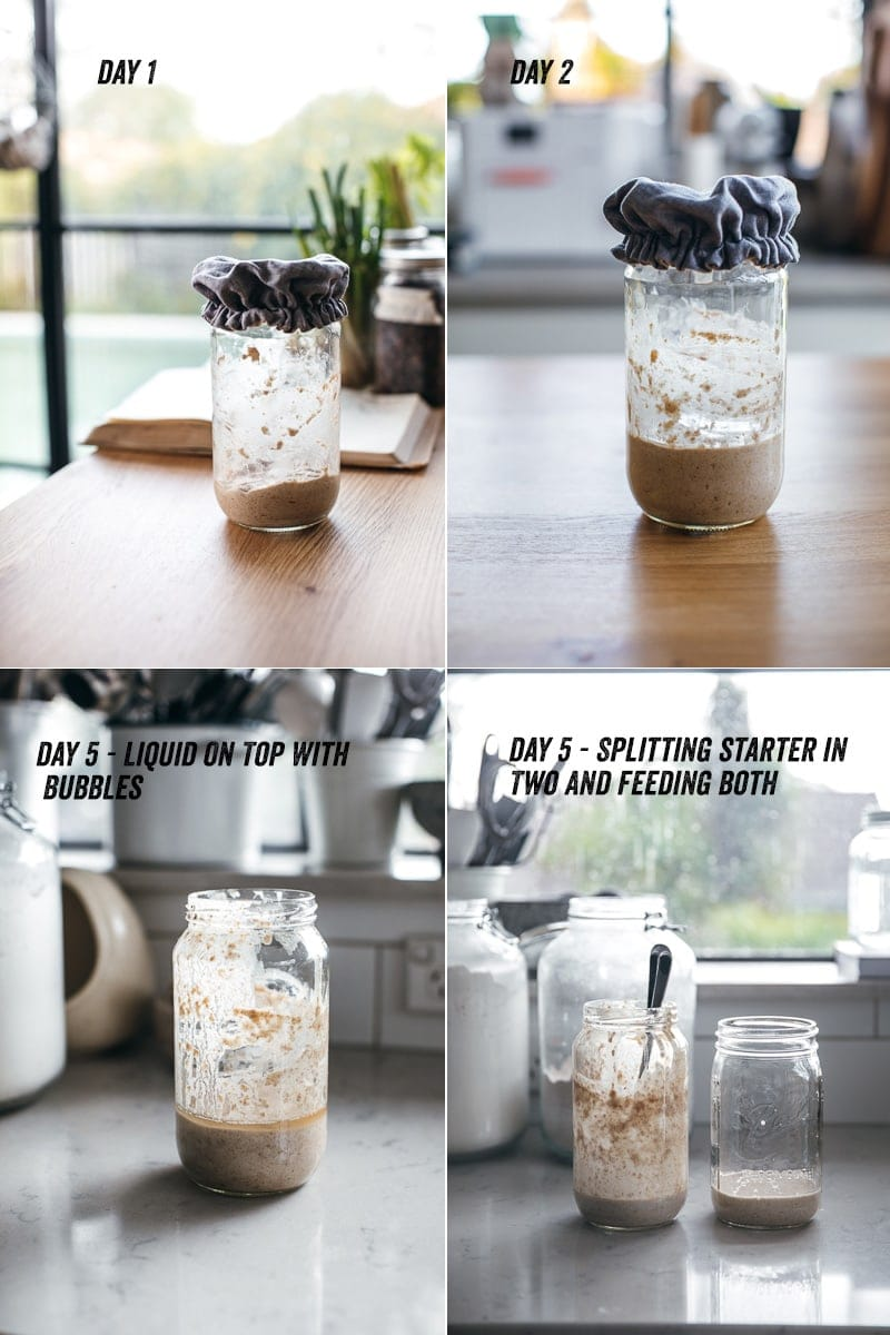 How To Make A Sourdough Starter At Home - Cook Republic #vegan #sourdough #homemade #breadmaking