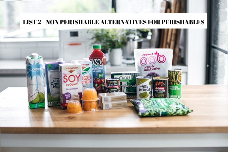 How To Stock Food Sensibly For Self-Isolation And Quarantine - Cook Republic