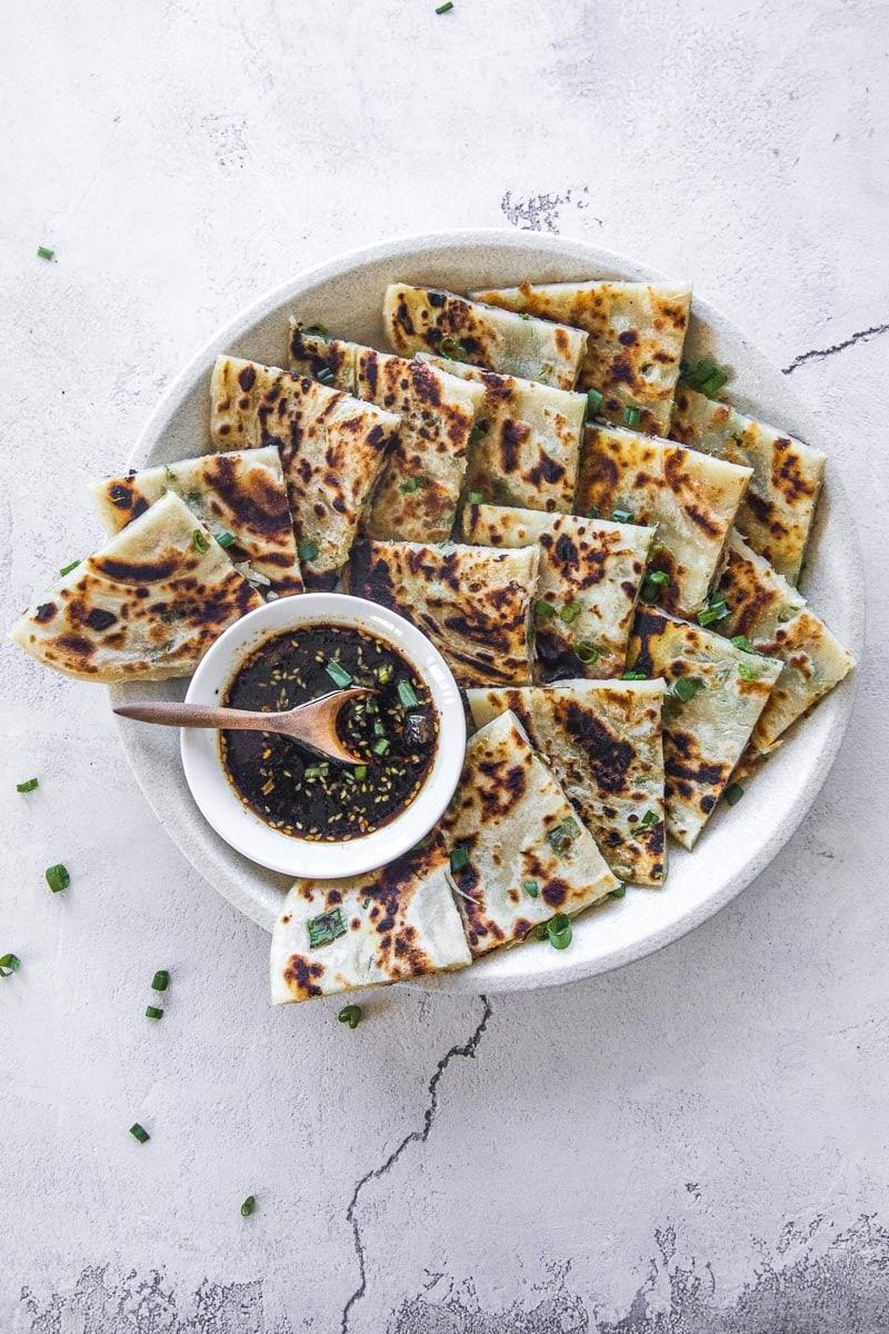 素食中国葱油饼 - 库克共和国William Hill娱乐