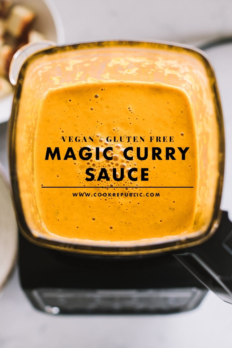 Vegan Magic Curry Sauce - Cook Republic #vegancurry #currysauce #vegandinner #curryrecipe