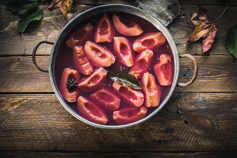 水煮香料Quince - Cook RepubWilliam Hill娱乐lic #poachedquince