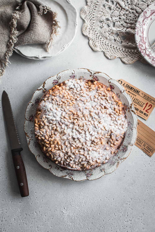 苹果松仁乳清干酪蛋糕-共和国奶油蛋糕意大利苹果蛋糕烘焙食谱William Hill娱乐