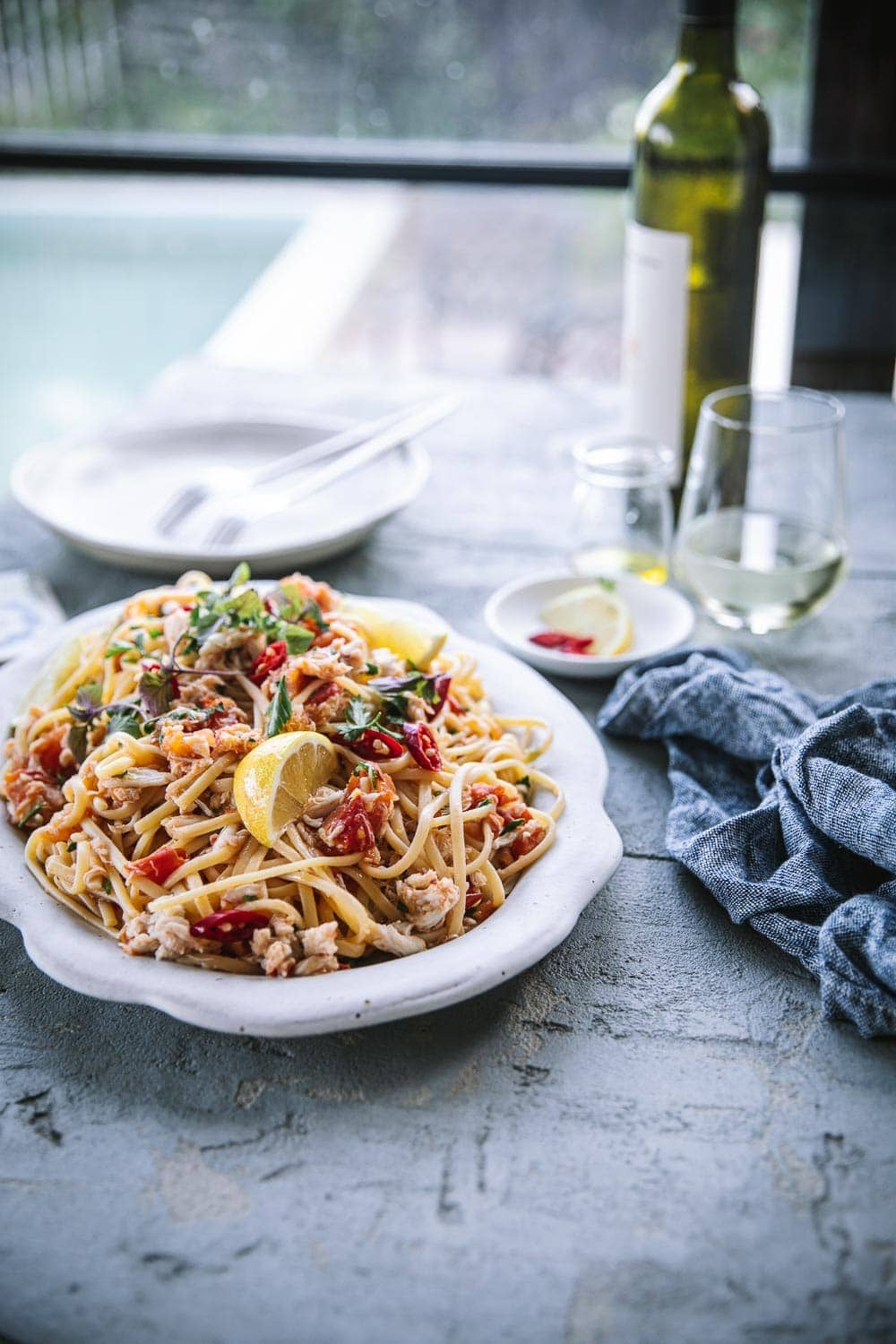 Chilli Crab Linguini - Cook Republic